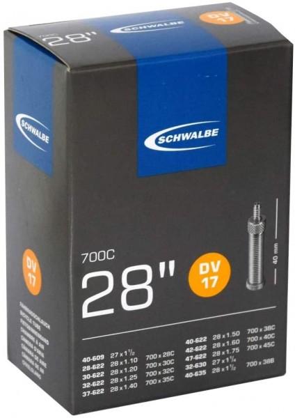 Schlauch Schwalbe DV17 28/47-622/635 IB 40mm