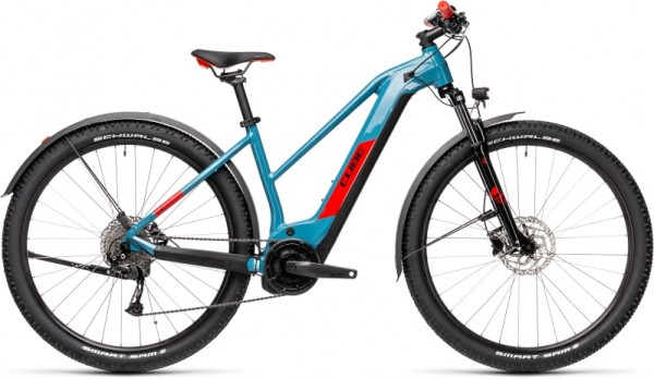 Cube Reaction Hybrid Performance 400 Allroad blue´n´red Trapez