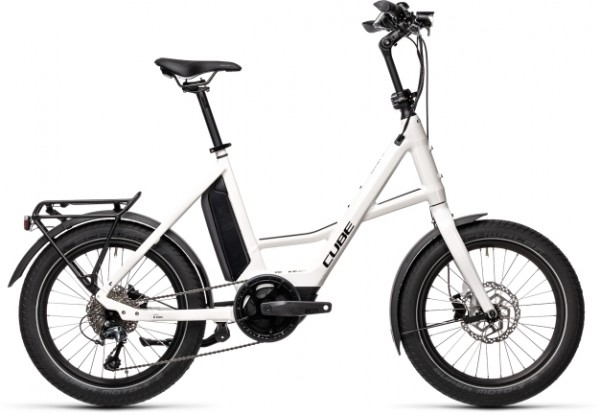 "Cube Compact Hybrid Sport white´n´black 20"" / S 2021"