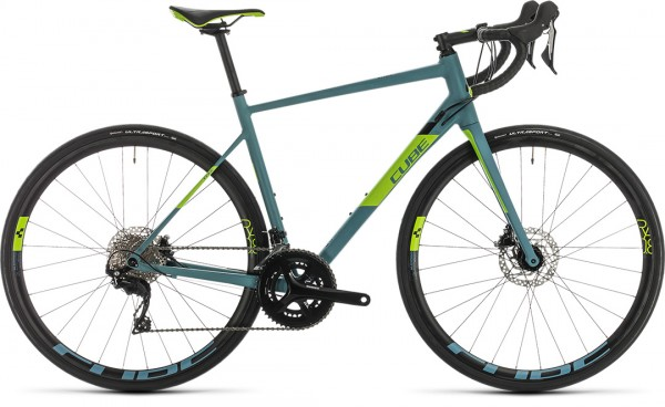 Cube Attain SL bluegrey´n´green 2020