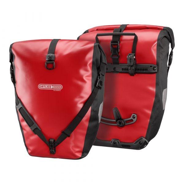 Back-Roller Classic, red - black, 40 L,