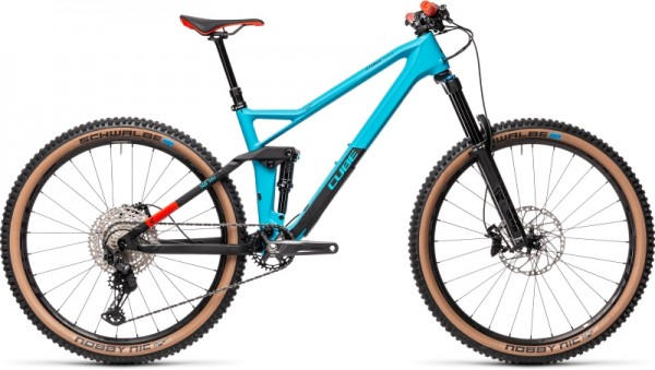 Cube Stereo 140 HPC Race 27.5 petrol´n´red